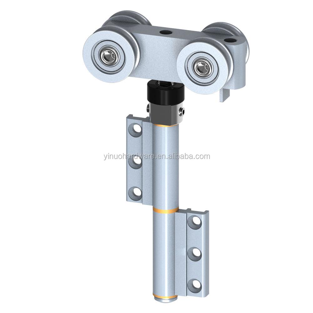 Aluminium deur raam hardware accessoires aluminium profiel vouwen deur fittings vouwdeur montage