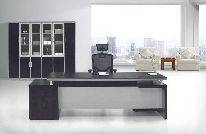 Manager office desk modern office table design modern for Table design for office