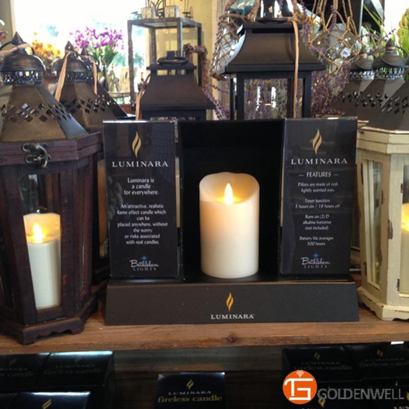 luminara mason jar candle with lid flickering wick wax candle