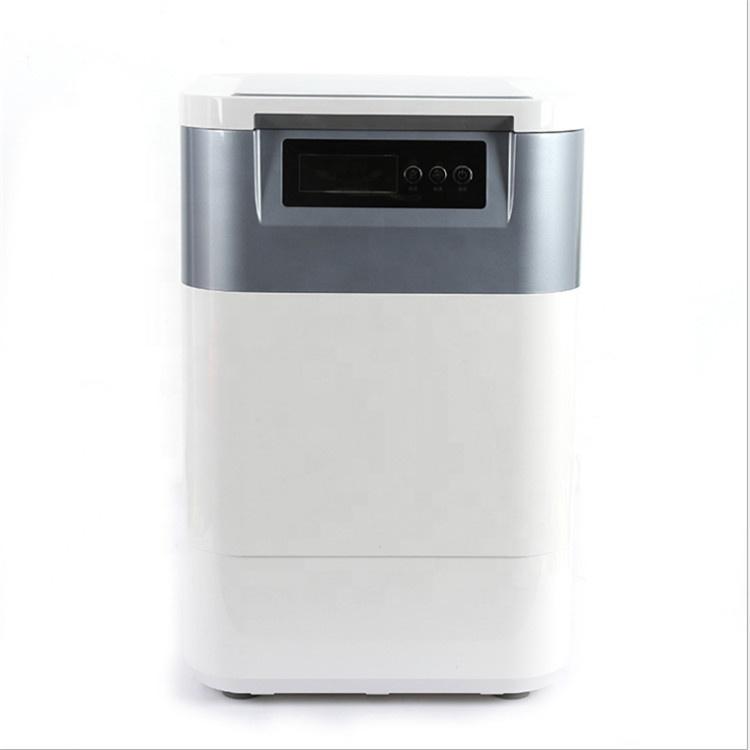 2kg red deodorant type kitchen food waste composting machine