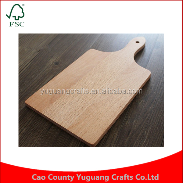 Custom Kitchen cooking tools friendly rectangle solid wood wooden cutting board cabinet thickening bread fruit cutting board