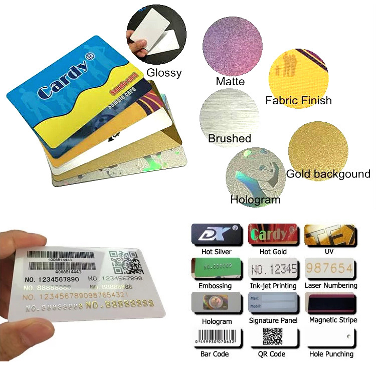 RFID Business Card 13.56MHz Magnetic Card with NFC Tag