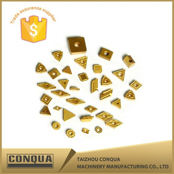 turning and milling hex tungsten carbide thread insert