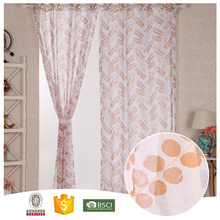 Newest Design Famous Brand Beautiful swag curtain styles
