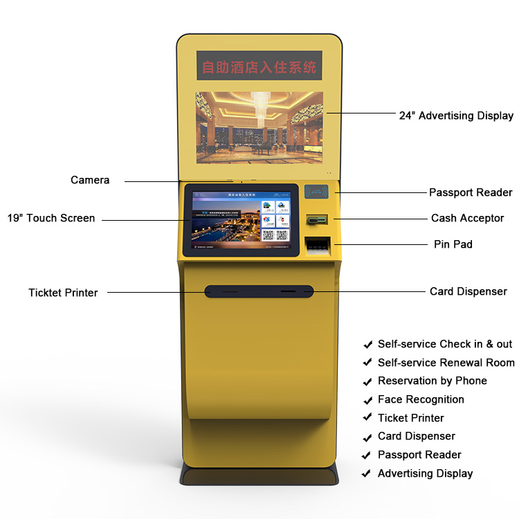 Self Booking Kiosk For Hotel Room Check In Kiosk Buy Self Booking Kiosk Self Check Machine Self Payment Kiosk Product On Alibaba Com