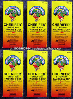 6 Cherifer Syrup With Cgf Growth And Height Vitamins For