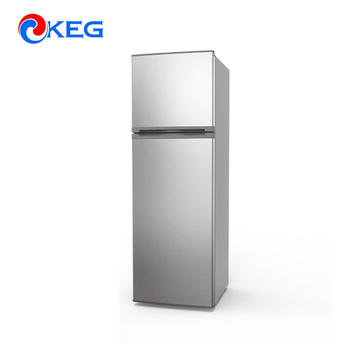 268 Liter Kitchen Water cooler optional Double Door Refrigerator For Home Use