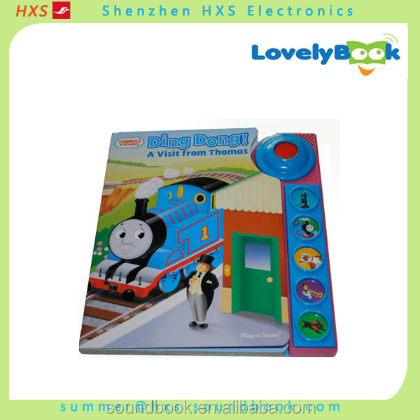 2016 Customized Children Learning Singing Sound Book Supplier