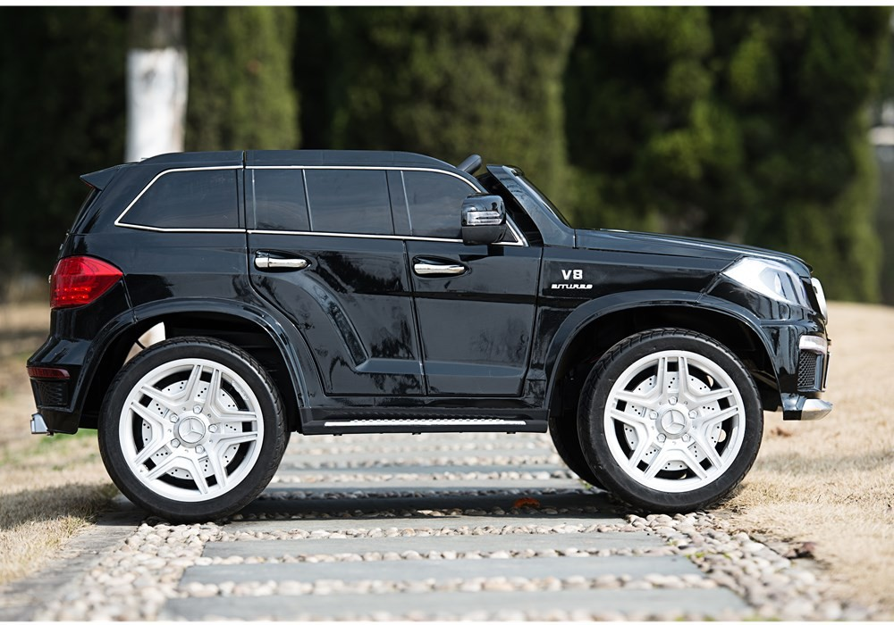 electric car for kids with remote control licensed mercedes benz gl 63 rechargeable toy car