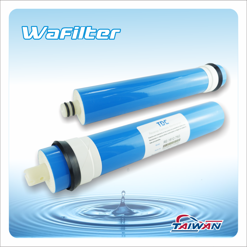 RO Water Filter Parts Reverse Osmosis 75GPD RO Membrane Price