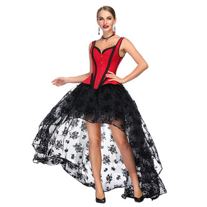 95553af00a2 Hot Sale Red Waist Shaper Body Slimming Tie Back Sexy Lady Corset