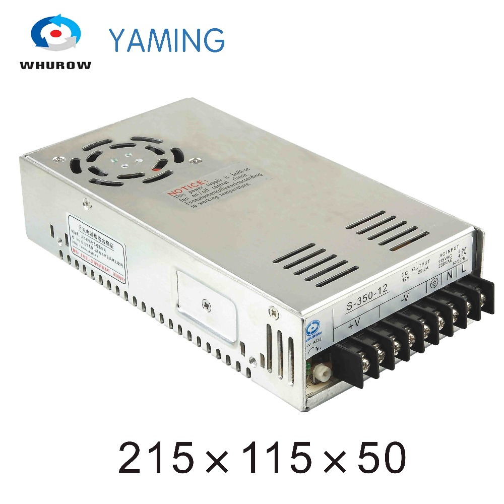 Yaming elecreic S-350-12 Single output 12v 29a 350W AC/DC Computer Switch Power Supply for LED Strip light YMS-350-12