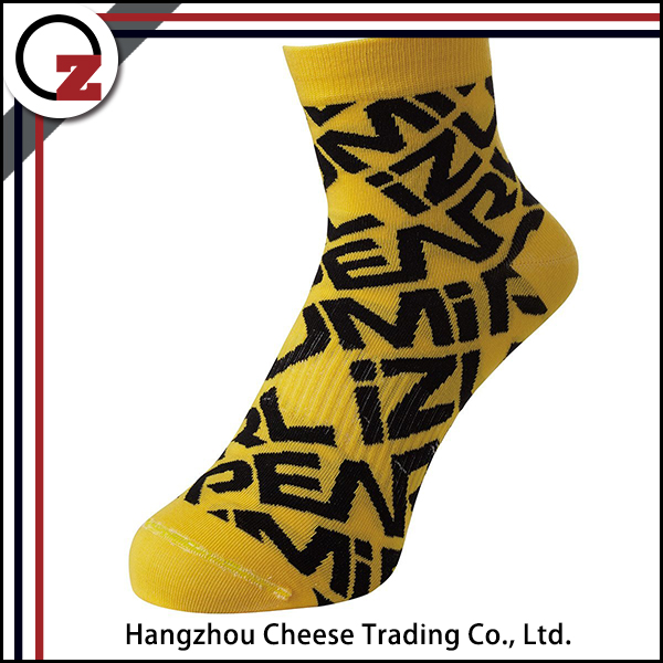 Custom made ankle sports socks for men