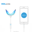 Portable personal dental care products mini LED teeth whitening light