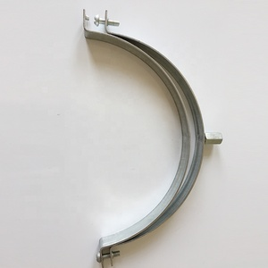 High quality galvanized steel flexible air duct clamp