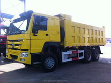 Sinotruck HOWO MACK Tri-axle Rear tipping 20 ton dump truck for sale