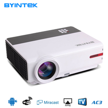 5000 lumens Home Theater 1080P 3D Video HDMI DVBT LCD Video fuLL HD LED Android Wifi Projector Projetor Proyector beamer