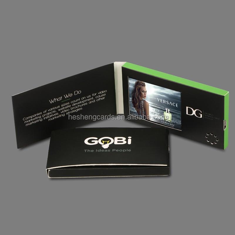 Werbe 2 4 Zoll Digital Video Visitenkarte Video Broschüre Karte Buy Video Broschüre Karte Video Visitenkarte Promitional Digital Video Broschüre
