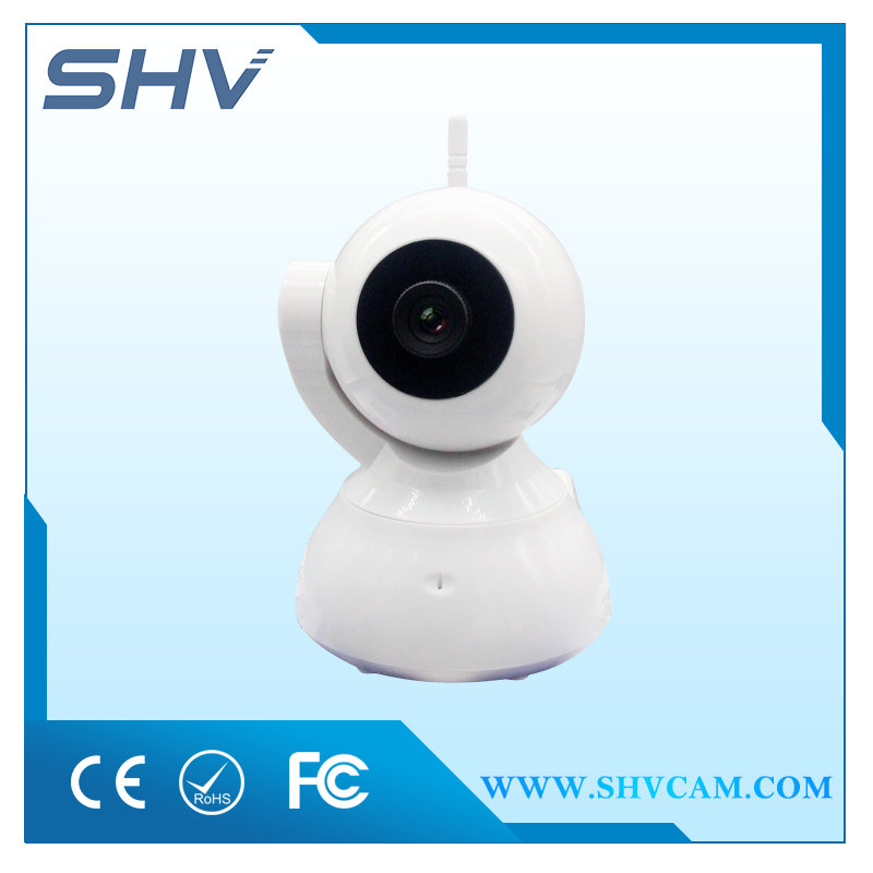 Wholesale HD ONVIF CCTV P2P Wireless Alarm Night Vision 1mp IP Camera with SD Card Slot with WIFI Support 64GB Card