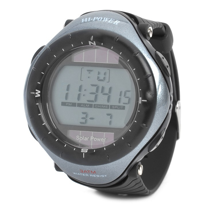 hot cold multi-functional electronic watch sport diving waterproof watch digital watch