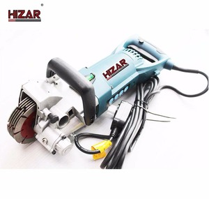 HIZAR HWG150 Mini electric power tools portable multi blade wall chaser up to 7 blades in China