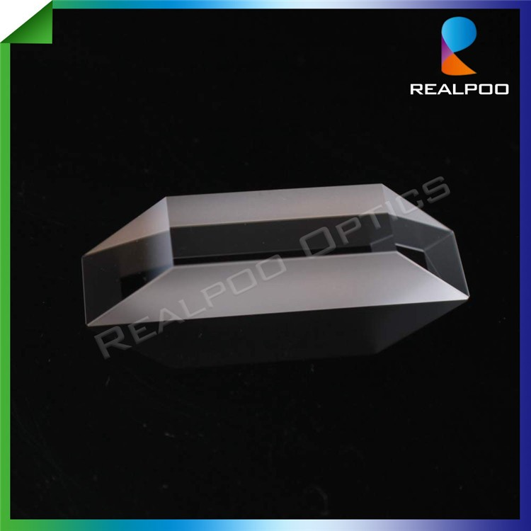 Optical Fused Silica glass dove Trapezoid Prism