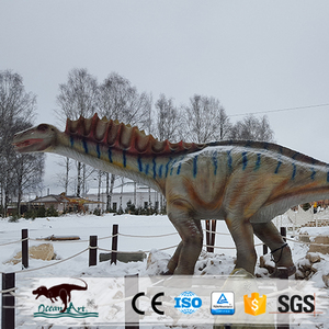 OAJ 8800 Outdoor Amusement Park High Quality Dinosaur Monster Animatronic