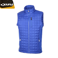Fashion Stylish 100% polyester Warm Mens Insulated Down Vest