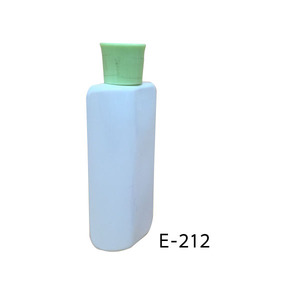 Screen printing high quality 80ml PET plastic bottle with lid for cream body care