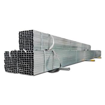 Online Trading Galvanized Rectangular And Square Tube Small Diameter Steel Pipe