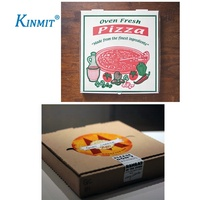 Kinmit Custom Printed Self Adhesive Pizza Box Labels