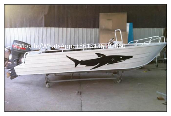 bateau de peche fond plat