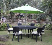 2012 Garden dining set/ New outdoor furniture designs