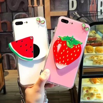 separation shoes 73d4f a41ad Cute Fashion Fruit Mirror Case For Iphone 7 6 6s 6 Plus 7 Plus Watermelon  Strawberry Candy Ice Cream Phone Case Cover - Buy Fruit Mirror Phone Case  ...