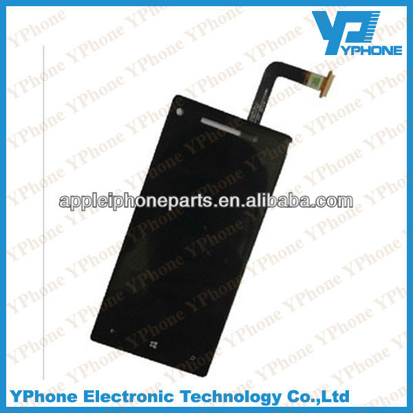 Wholesale price for htc windows phone 8x lcd assembly