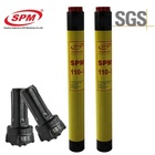 SPM110 CIR110 4inch 130mm DTH Hammer hard carbide tungsten carbide drill rock bit / drill rock bits