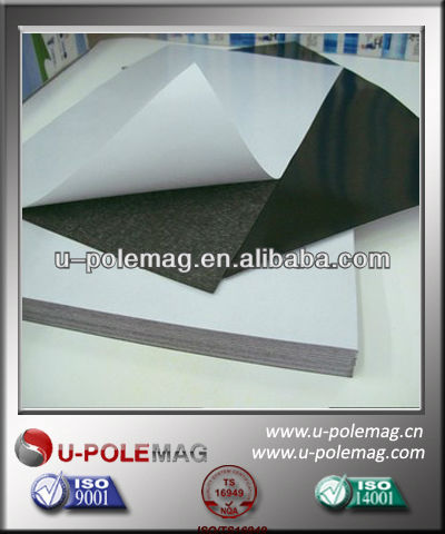 A4 Size Flexible Magnetic Sheet With Self-adhesive