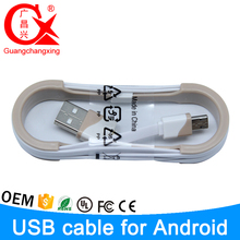 luxury type with colorful removable hull 1m length 5pin micro usb cable