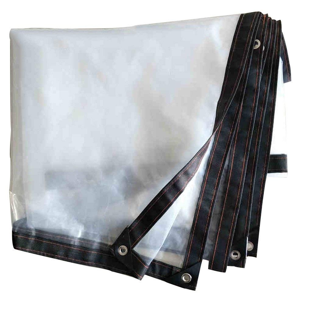 Tarps Greenhouse Transparent Plastic Film Poncho Prevent Cold Cloth Meat Insulation Film Bare Movie Transparent Plastic Film Plastic Paper Edge Grinding Punching Tie-Downs