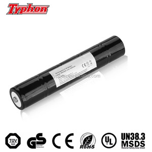 Flashlight Battery 6V 2500mAh NICD Replaces Maglite ESR4EE3060,108-000-817,ET2600D ,40070249,ARXX235 Moltech N38AF001A