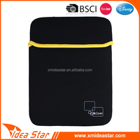 New arrival portable black neoprene case for ipad air 2
