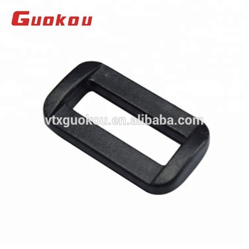 Customized plastic square ring buckle for camera bags
