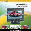 Super slim desgin! Hot! 7 inch TFT lcd tft monitor with rca input for car