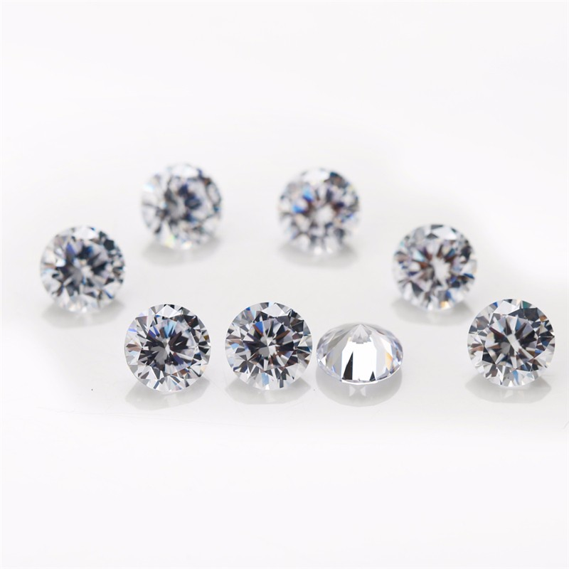 1000piece/bag 1.5mm 5A Loose CZ Stone White Cubic Zirconia For Jewelry