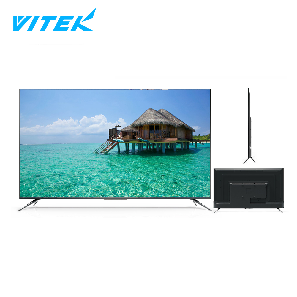 VITEK tv flat screen manufacturers Big hd led tv screen 49 50 55 65 inch 4k,48 inches led lcd tv monitor