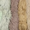 "24""x48"" China Manufacturer Wholesale Price Mongolian Lamb Wool Tibet Sheepskin Hides Plate for Pillow Cushions"