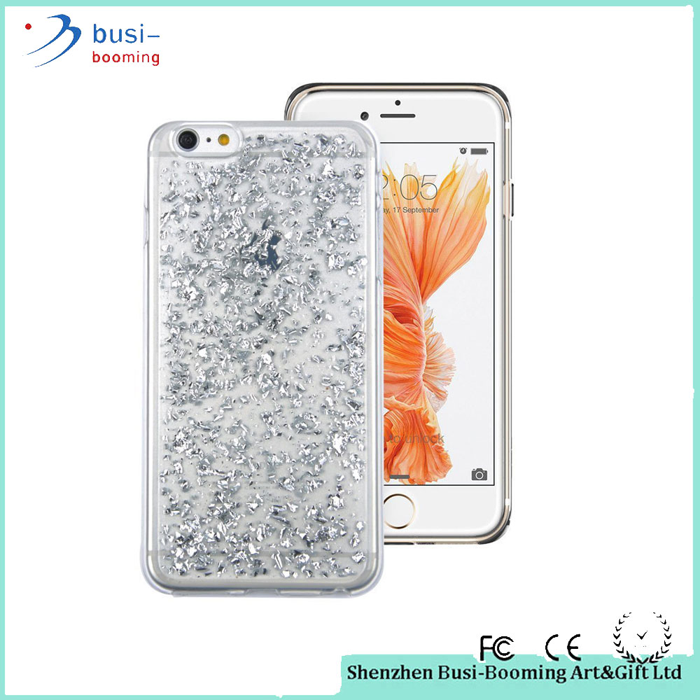 Small Fast Selling Items Fashion Glitter Soft TPU Case For Iphone 7 Transparent Case