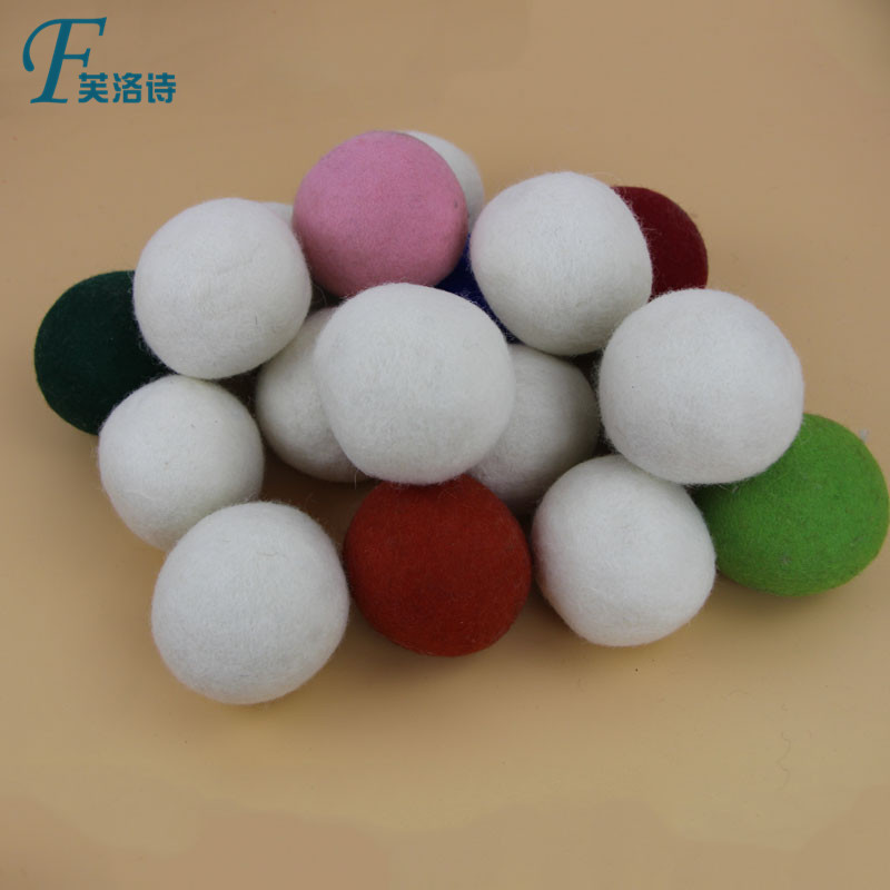Plus size dry cleaning felt ball wool dryer ball