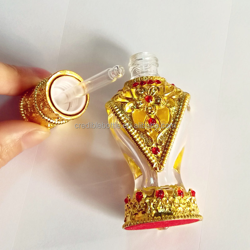 dropper metal essencial oil bottles Dubai perfume bottle