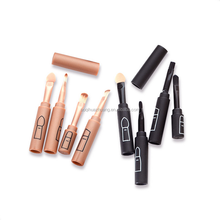 4 in 1 Professionelle Kosmetik <span class=keywords><strong>Make-Up</strong></span> Pinsel Lip Lidschatten Augenbraue Pinsel Schönheit <span class=keywords><strong>Make-Up</strong></span> Pinsel <span class=keywords><strong>Set</strong></span>